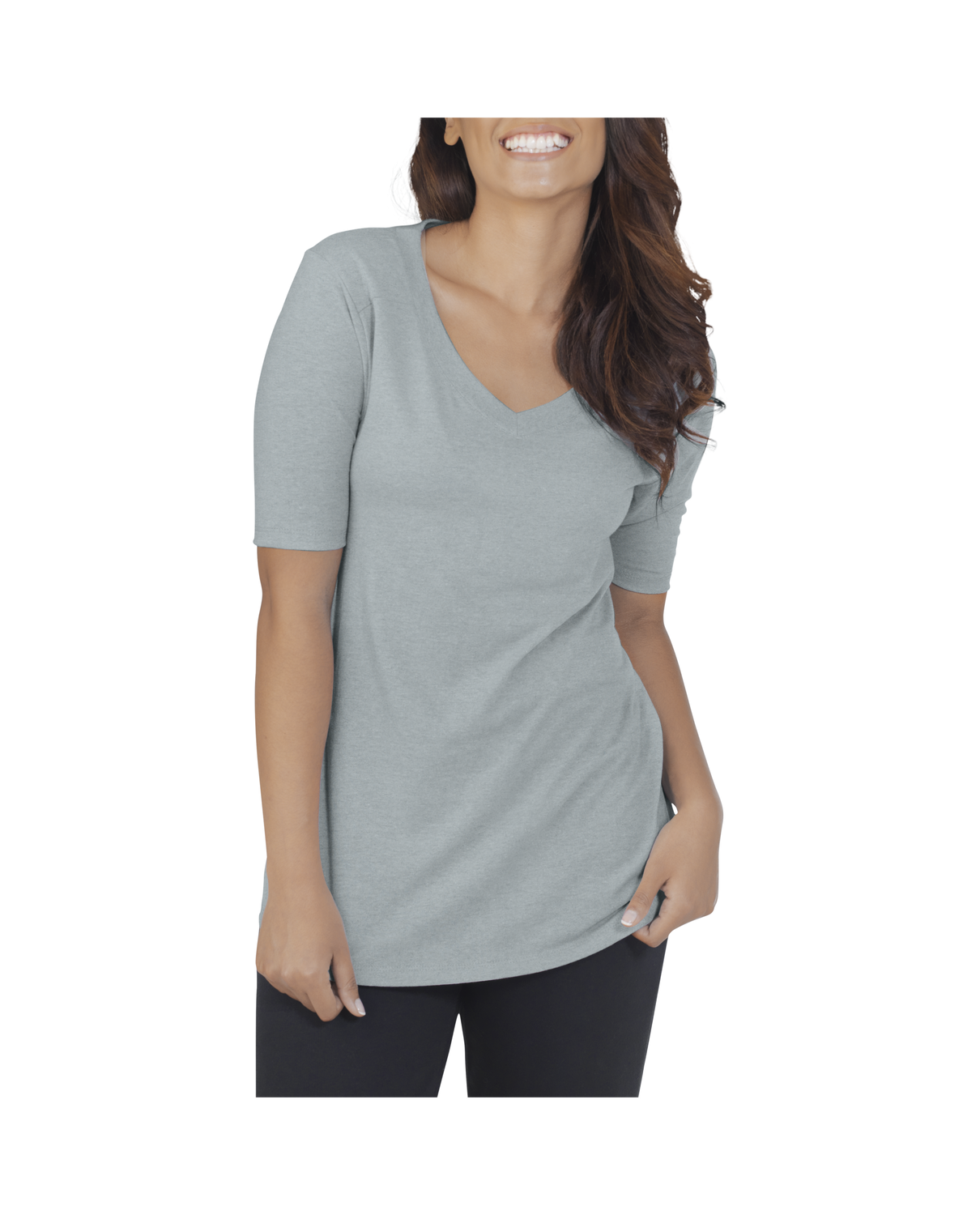 fruit of the loom women s essentials all day elbow length