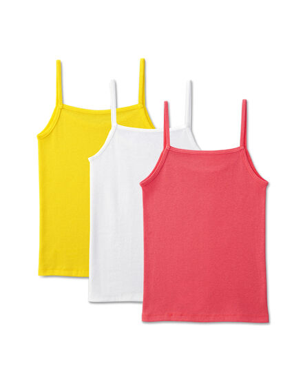 Girls' 3 Pack Assorted Cami Assorted