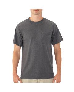 Men's Eversoft Short Sleeve Crew T-Shirt Pocket T-Shirt Extended Sizes