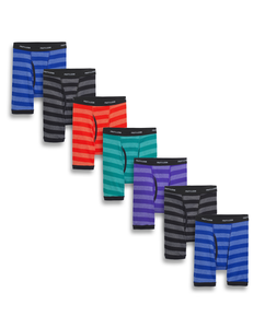 Fruit of the Loom Boys' Assorted Boxer Brief, 7 pack