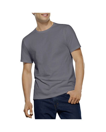 Men's 2 Pack Tall Man Black/Grey Crew White