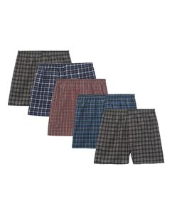 Men's 3 Pack Assorted Boxer Basic Fit Woven Extended Sizes