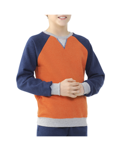 Boys' Explorer Fleece Adventure Crew Sweatshirt