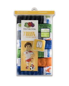 Fruit of the Loom Toddler Boys' Assorted Boxer Brief, 7 pack