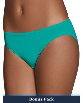 Women's Assorted Microfiber Bikini Panty, 8 Pack