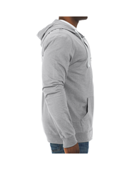 Soft Jersey Full Zip Hooded Jacket, 1 Pack Athletic Heather