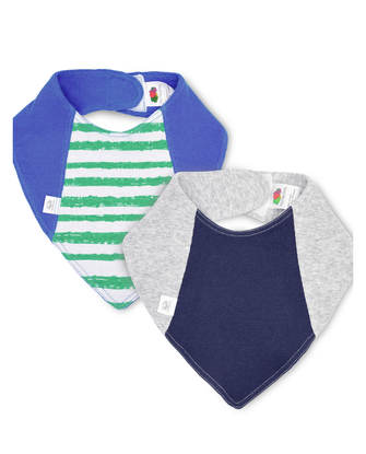 Baby Boys' Grow & Fit Bandanas, 2 Pack
