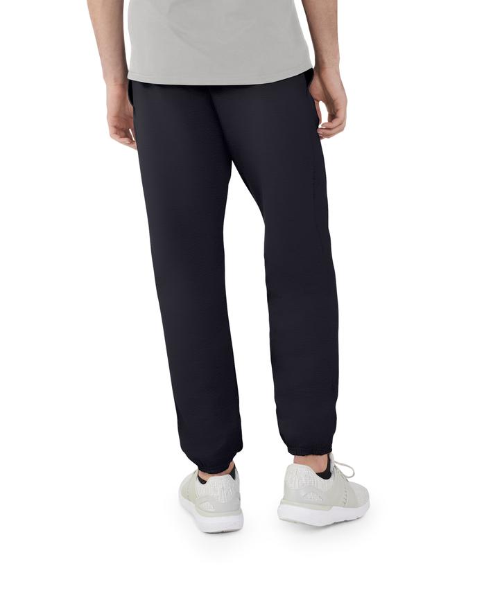 Men's EverSoft Fleece Elastic Bottom Sweatpants, 1 Pack Black