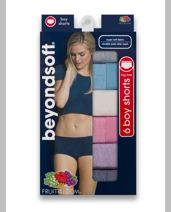 Women's Beyondsoft Boy Short, 6 Pack