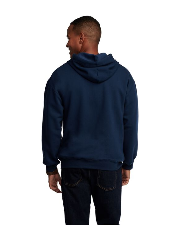 EverSoft Fleece Full Zip Hoodie Jacket, Extended Sizes, 1 Pack Navy