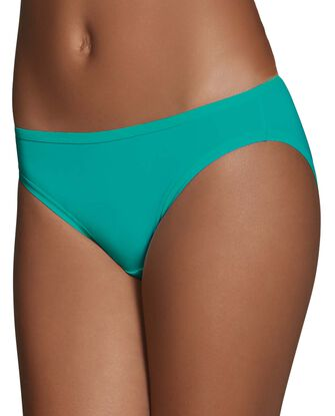 Women's Microfiber Bikini Panty, 6 Pack