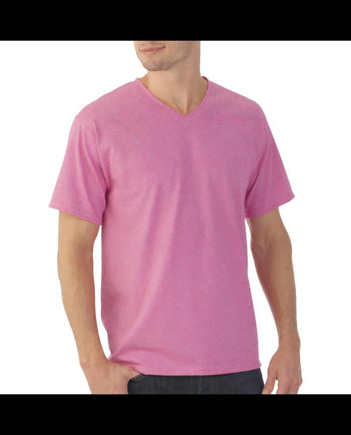 Men's EverSoft Micro Stripe V-Neck T-Shirt, 1 Pack