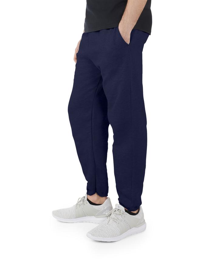 Big Men's EverSoft Fleece Elastic Bottom Sweatpants J.Navy