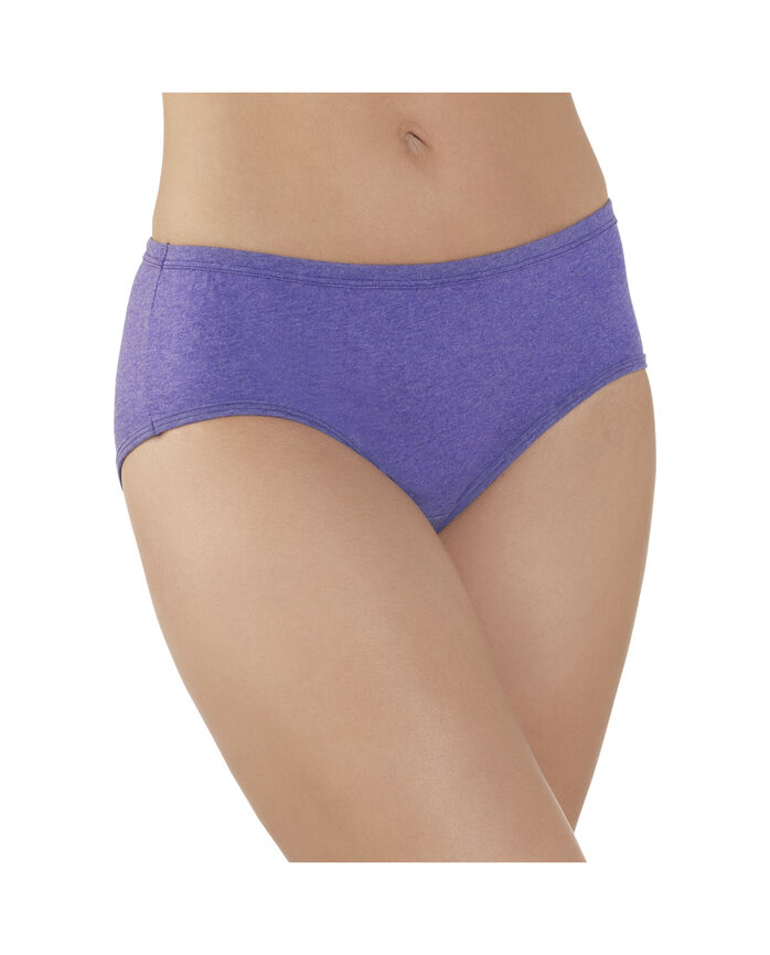 Women's 6 Pack Comfort Covered Cotton Hipster