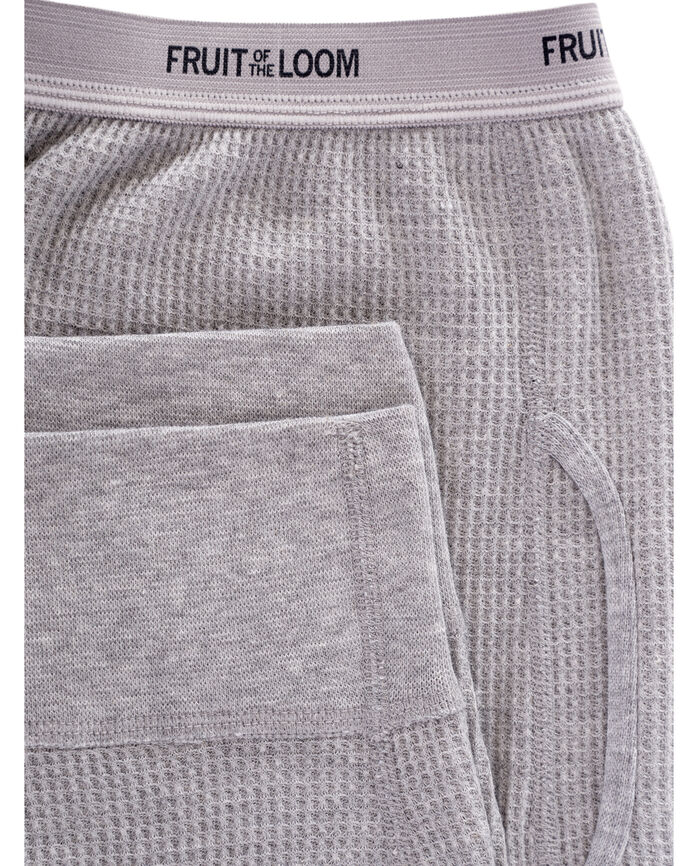 Men's Classic Thermal Underwear Bottom Light Grey Heather