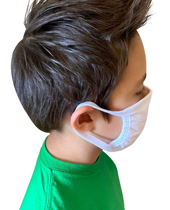 Reusable Cotton Face Mask Non-Medical, 5 Pack White