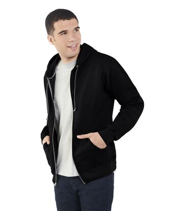 Big Men's EverSoft Fleece Full Zip Hoodie Jacket, 1 Pack