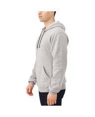 Big Men's EverSoft Fleece Pullover Hoodie Sweatshirt, 1 Pack Steel Grey Heather