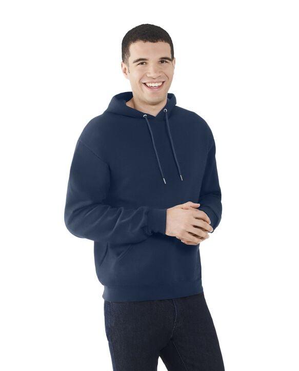 Men's EverSoft Fleece Pullover Hoodie Sweatshirt, 1 Pack Blue Cove