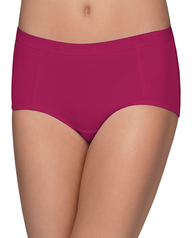 Young Women's Ribbed Boy Brief, 3 Pack ASSORTED