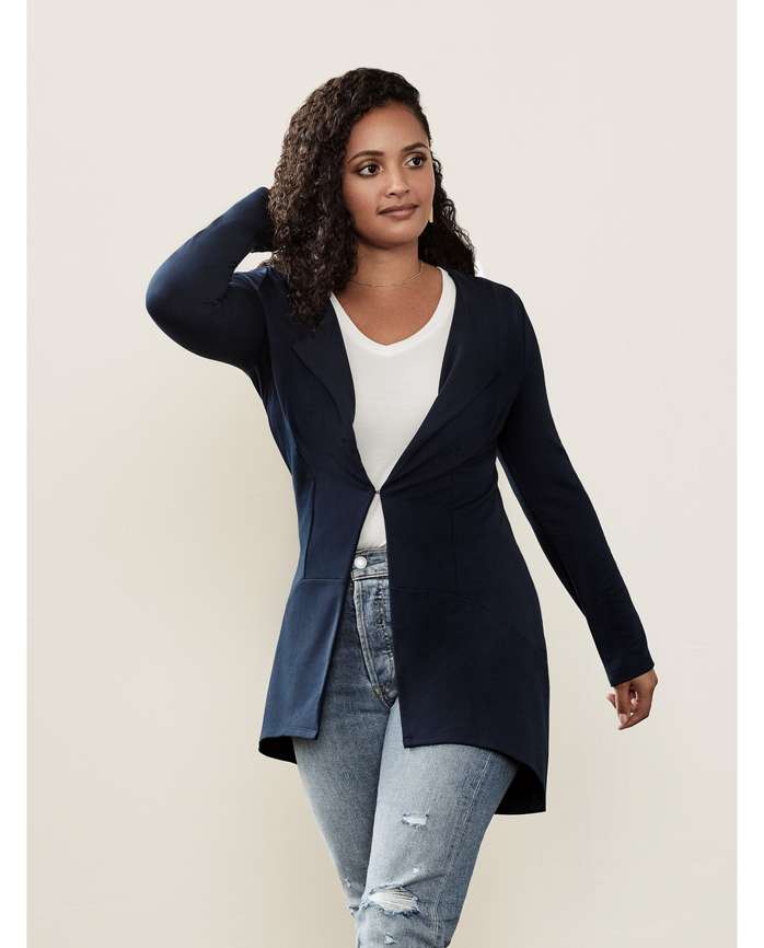 Women's Seek No Further® Cardigan, 1 Pack Navy Nights