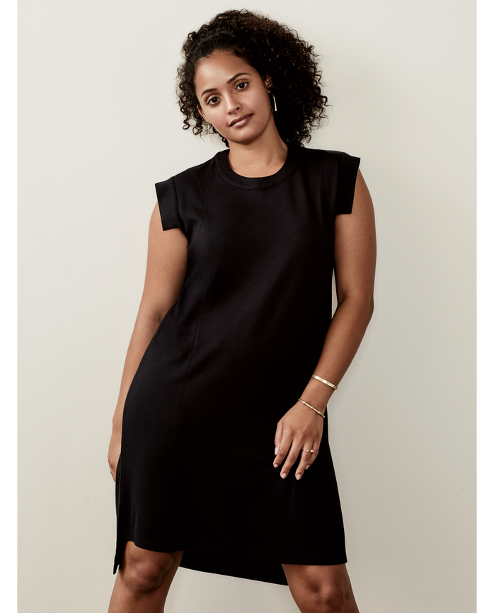 Women's Seek No Further™ Pleated Ponte Dress