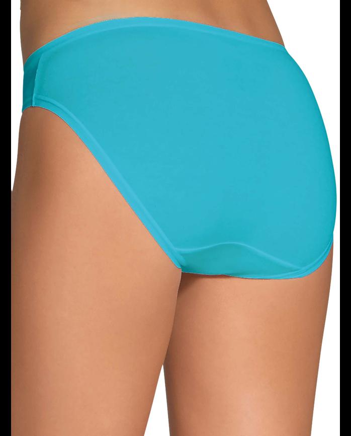 Women's CoolBlend Bikini, 4 Pack Assorted