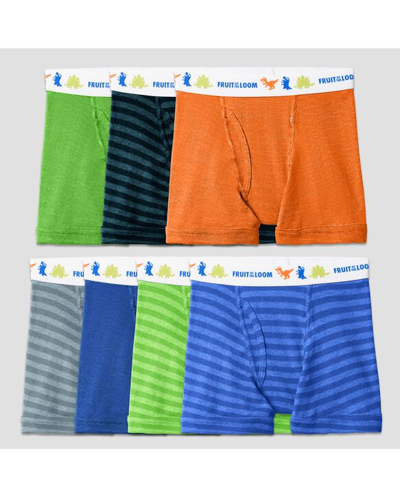 Toddler Boys' Assorted Boxer Briefs, 7 Pack Assorted