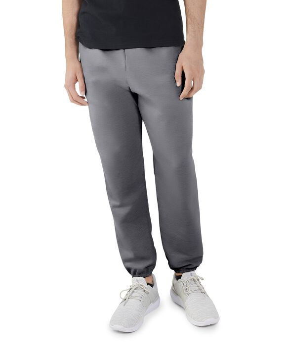Big Men's EverSoft Fleece Elastic Bottom Sweatpants, 1 Pack Charcoal Heather