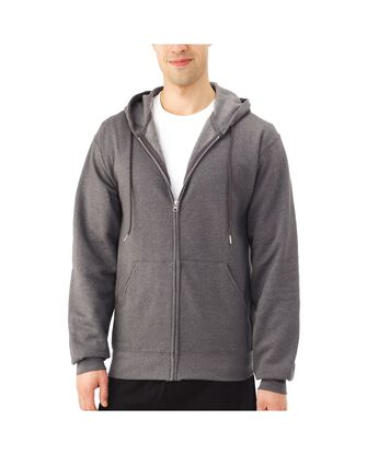 Men's EverSoft Fleece Full Zip Hoodie Jacket, 1 Pack