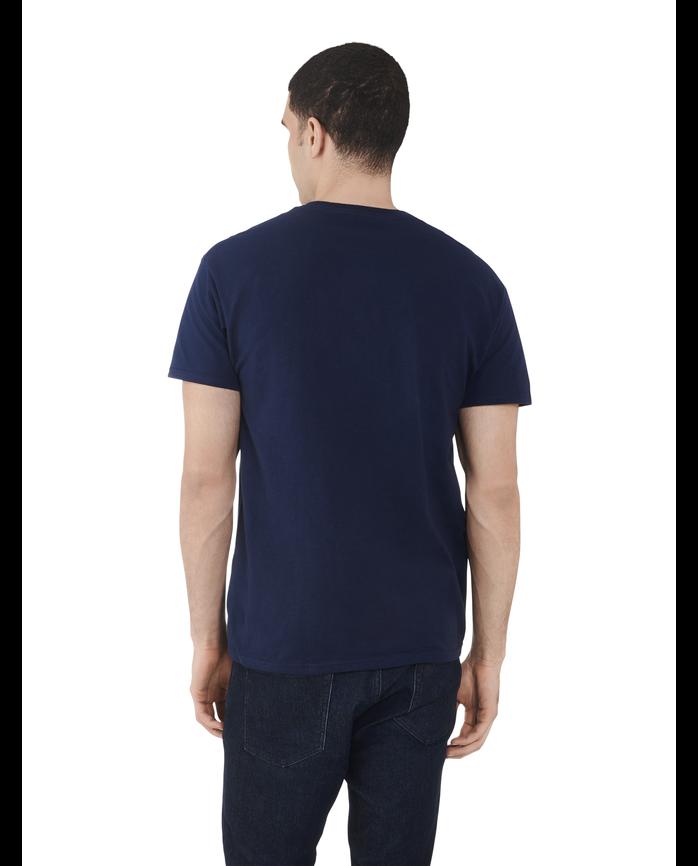 Men's Dual Defense UPF Short Sleeve Crew T-Shirt J Navy