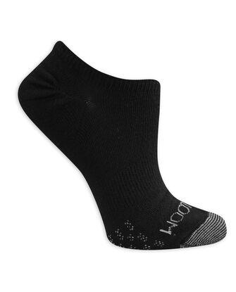 Women's On Her Feet Lightweight No Show Socks, 3 Pack, Size 4-10