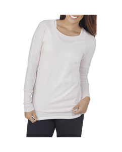 Women's Essentials All Day Long Sleeve Scoop Neck T-Shirt