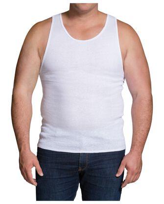 Big Men's White A Shirts, 3 Pack