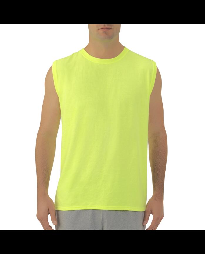 Big Men's Dual Defense® UPF Muscle Shirt