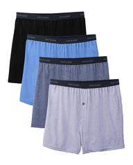 Men's Beyondsoft Knit Boxers, 4 Pack, Size 2XL