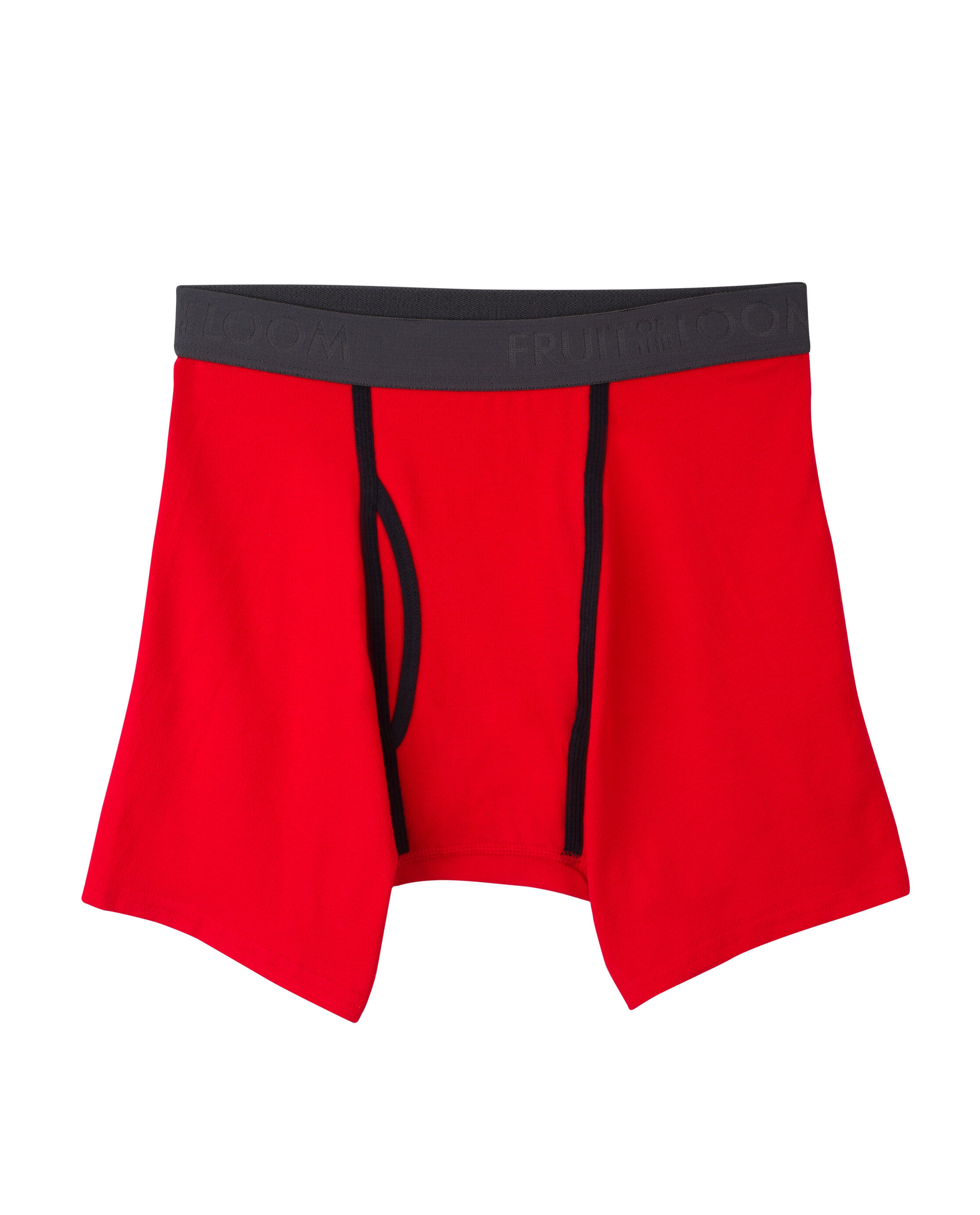 Men Russell Short Leg Red//Performance Boxer Brief Underwear Guy/'s Feel Great!