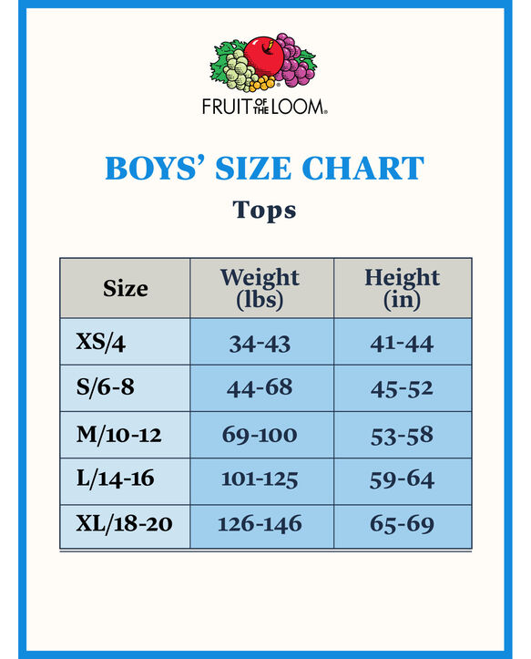 Boys' Short Sleeve White Crew T-Shirts, 7 Pack White