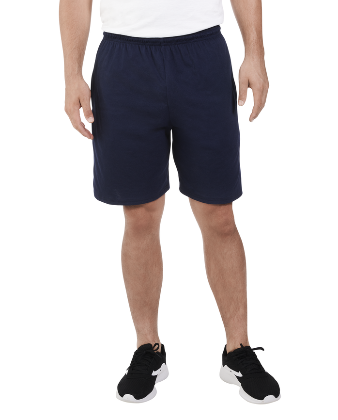 Men's Dual Defense® Jersey Shorts, 1 Pack, Extended Sizes jnavy