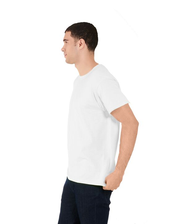 Men's 360 Breathe Crew T-Shirt, Extended Sizes Arctic White