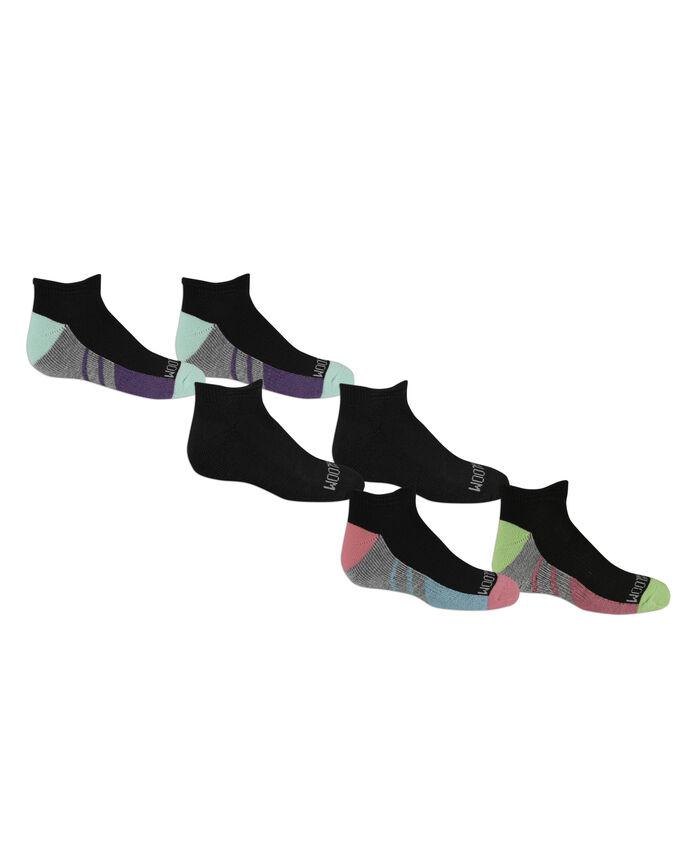 Girls' Low Cut Socks Pair, 6 Pack, Size 10.5-4