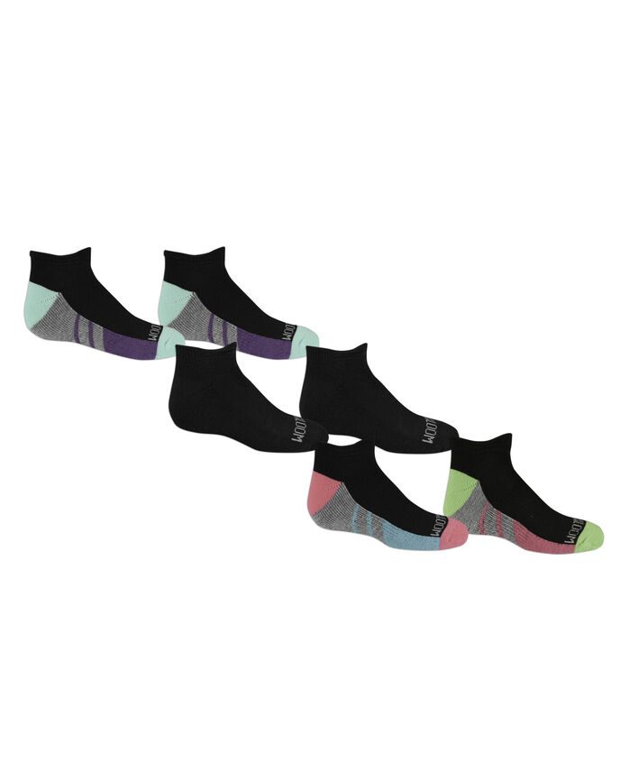 Girls' Low Cut Socks Pair, 6 Pack, Size 10.5-4