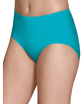 Women's Breathable Micro-Mesh Low Rise Brief, 4 Pack