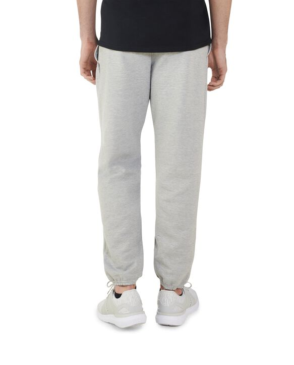 Big Men's EverSoft Fleece Elastic Bottom Sweatpants, 1 Pack Steel Grey Heather