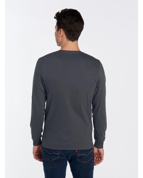 ICONIC Unisex Long-Sleeve T-Shirt Charcoal