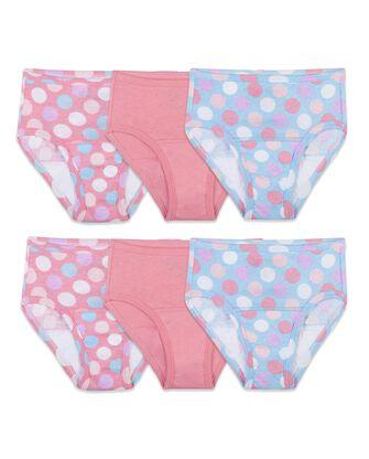 Toddler Girls' Training Pant, 6 Pack