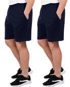 Men's Dual Defense UPF Jersey Shorts, 2 Pack J. Navy