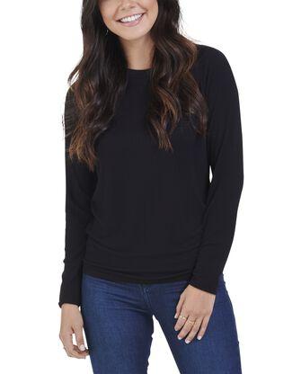 Women's Seek No Further Long Sleeve Ribbed T-Shirt