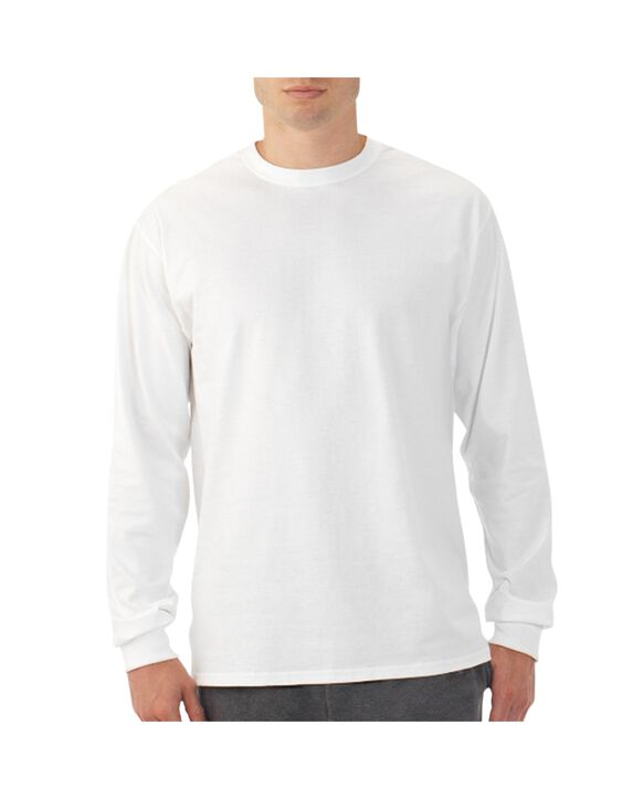 Men's EverSoft Long Sleeve T-Shirt, 1 Pack White