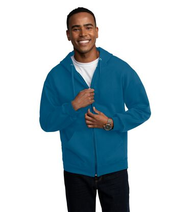 Men's EverSoft Fleece Full Zip Hoodie Jacket, 1 Pack